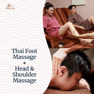 Thai Foot Massage + Head & Shoulder Massage