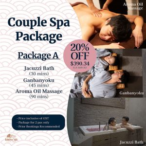 Couple Spa Package A