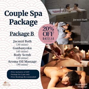 Couple Spa Package B